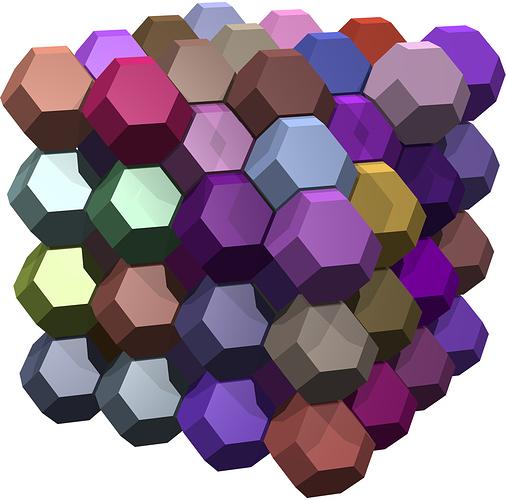 truncated-octahedra-tessellation